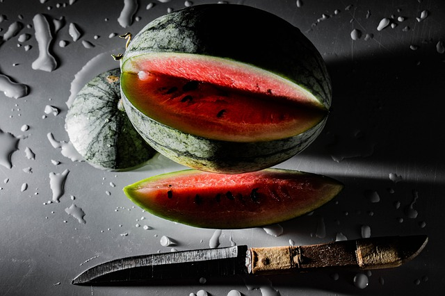 Rozkrojený meloun