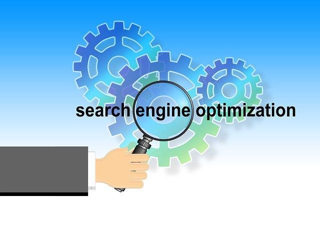 nápis Search Engine Optimalization